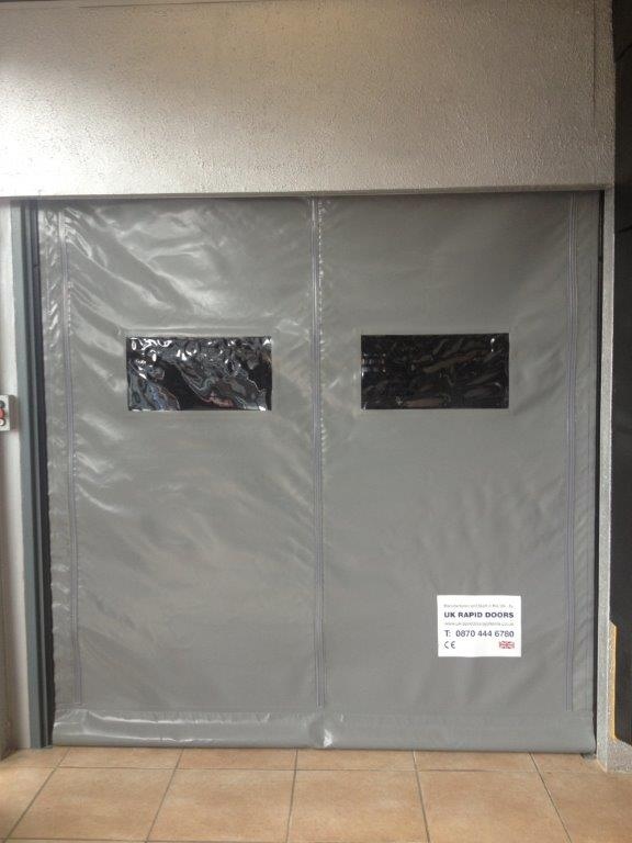 zip speed door zip speed door ... & Zip Speed Door From UK Rapid Door Systems